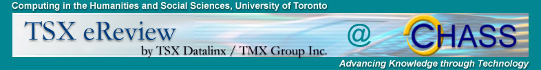 TSX eReview and