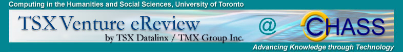 TSX Venture eReview and